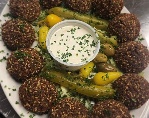Falafel Plate: Click here to add review